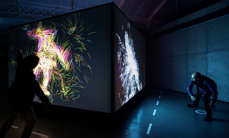 animated installation  nike